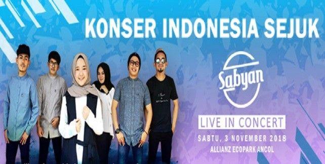 harga tiket Sabyan Live In Concert 2018