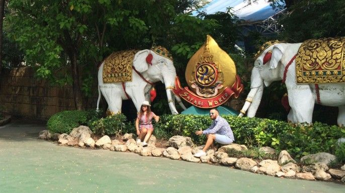 harga tiket Safari World & Marine Park Admission Ticket