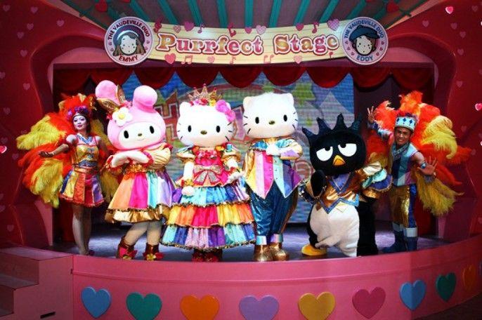 harga tiket Sanrio Hello Kitty Town E-Ticket