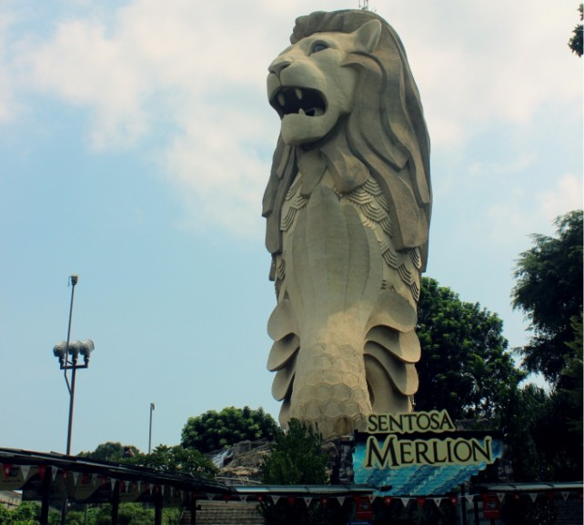 Sentosa Merlion E-voucher