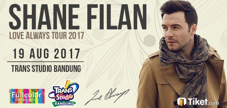 SHANE FILAN Love Always Tour in Bandung 2017