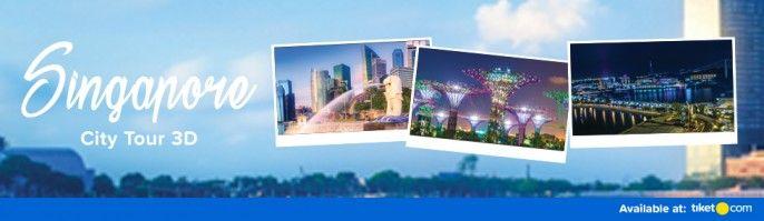harga tiket Singapore City Tour 3Days