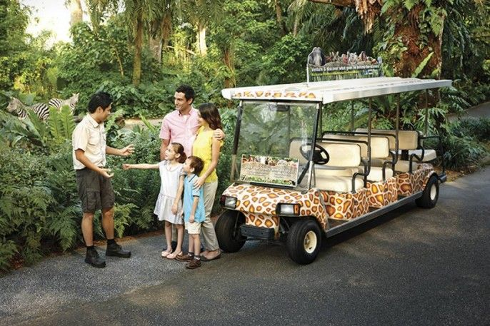 harga tiket Singapore Zoo E-Ticket with Unlimited Tram Ride