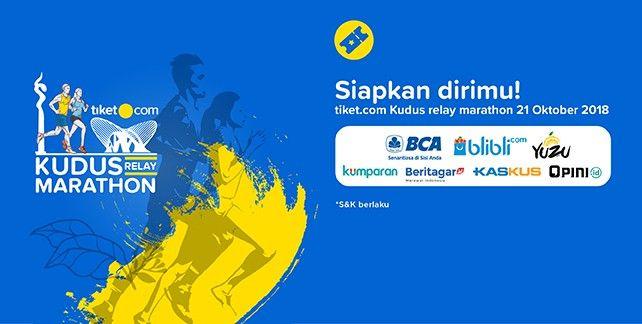 harga tiket Tiket.com Kudus Relay Marathon 2018