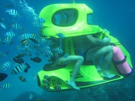 harga tiket Underwater Scooter Ride
