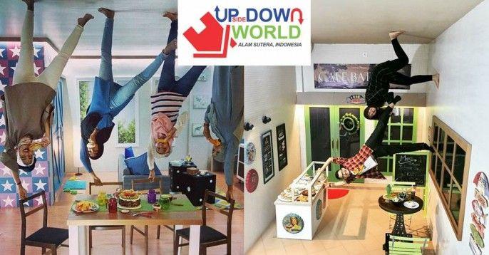 harga tiket Upside Down World Alam Sutera Tangerang