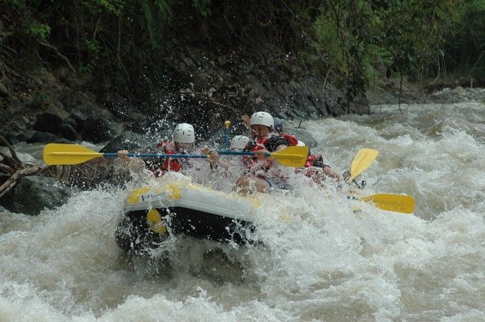 harga tiket White Water Rafting Experience at Mae Tang River (Join Tour)