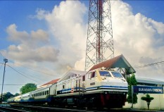 Mutiara Selatan di Stasiun Gubeng-Surabaya