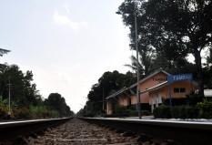 Objek Wisata Stasiun Tambak